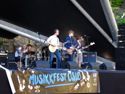 Et vellykket arrangement på Karpedammen scene under Musikkfest Oslo!